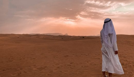 【ドバイ】絶対行くべき!4WDで行く砂漠ツアー!