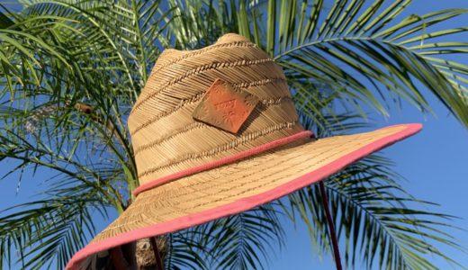 ROXYの麦わら帽子を可愛くリメイクしてみた!